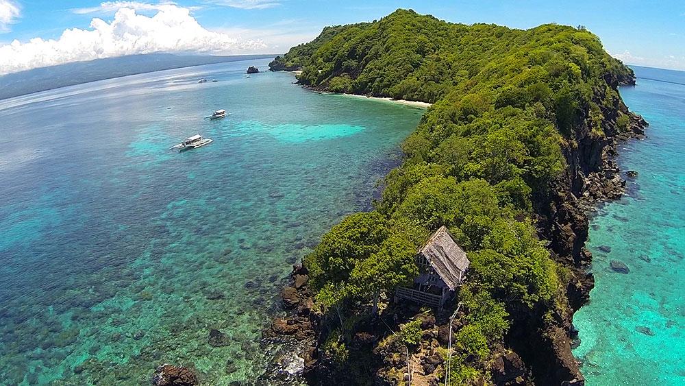 Apo Island Aerial