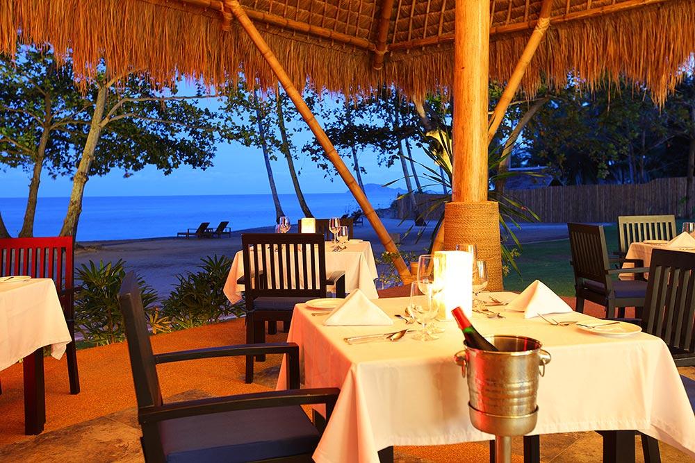 Dining in Blue Restaurant