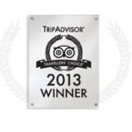 Tripadvisor 2013 Travellers' Choice Winner