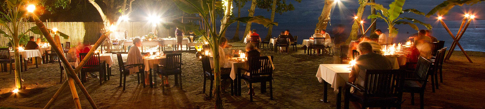 Fine dining at Atmosphere Resorts & Spa Philippines - join our weekly beach BBQ or order from our extensive menus