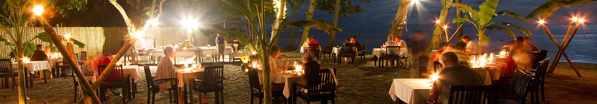 Weekly beach barbecue dining at Atmosphere in Dumaguete Philippines