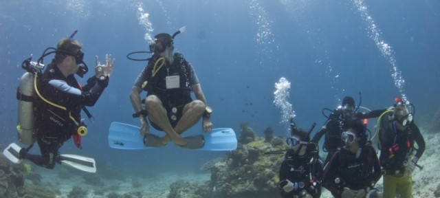 When Diving becomes Meditation