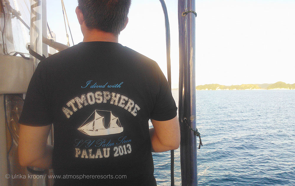 Team t-shirts Palau 2013