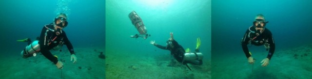 padi sidemount at atmosphere resorts in dauin philippines