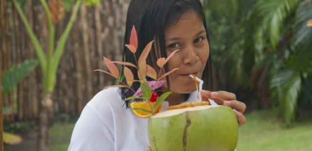 Buko juice or shake anyone? Possibly the best drink in the world...