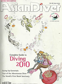 Asian Diver January 2010