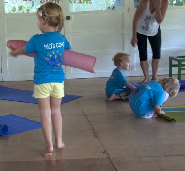 yoga for children kids atmosphere resort sanctuary spa