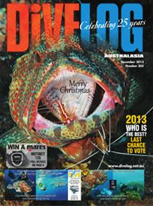 Divelog Australasia 2013