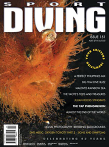 Scuba Diving March – April 2012