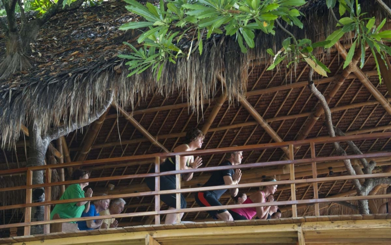 Yoga in the Atmosphere Tree House