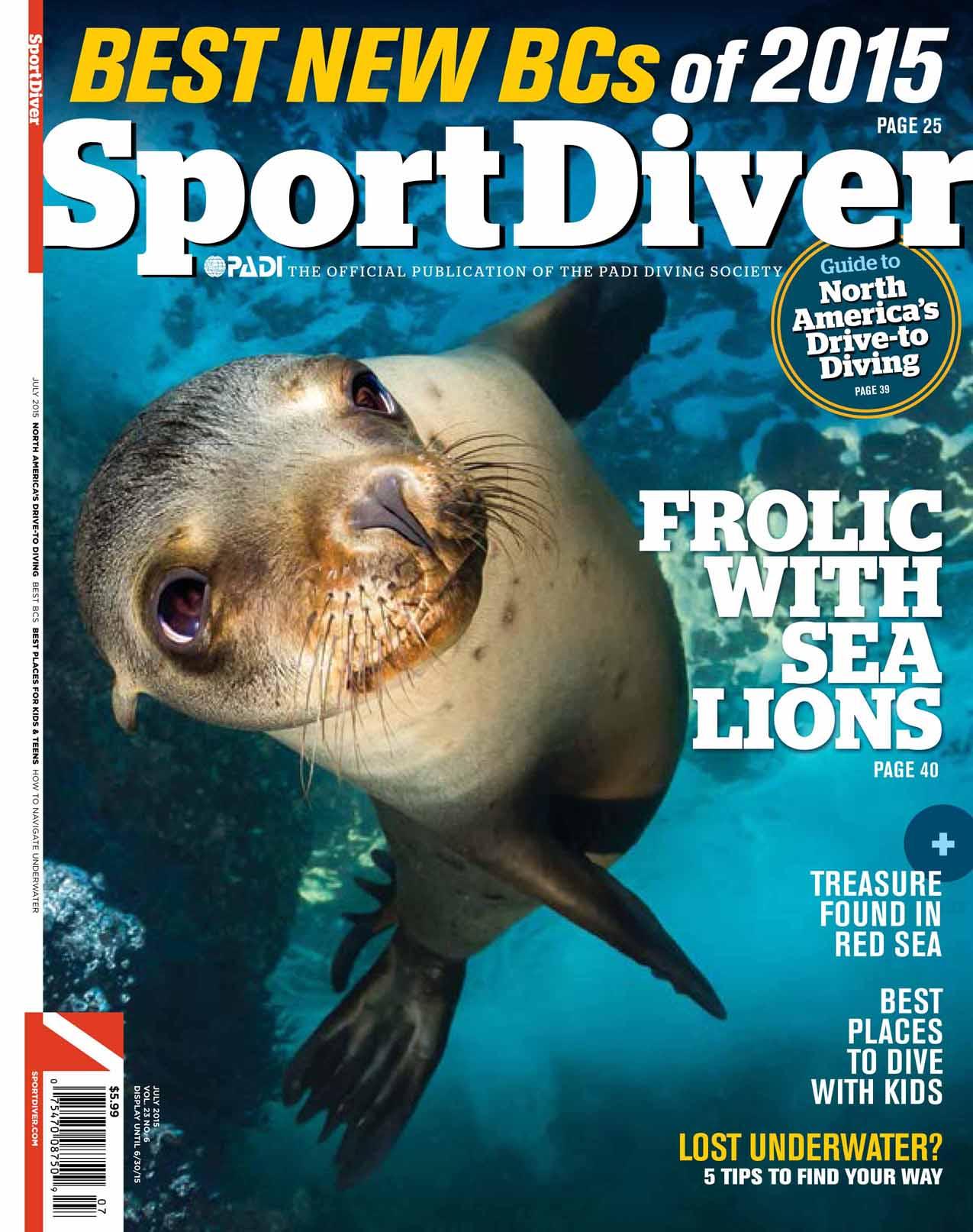 Sport Diver US July 2015