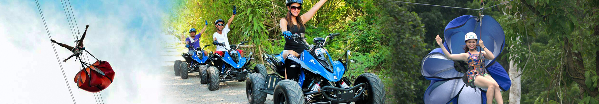 Join Atmosphere for a zipline or ATV adventure in Dumaguete Philippines
