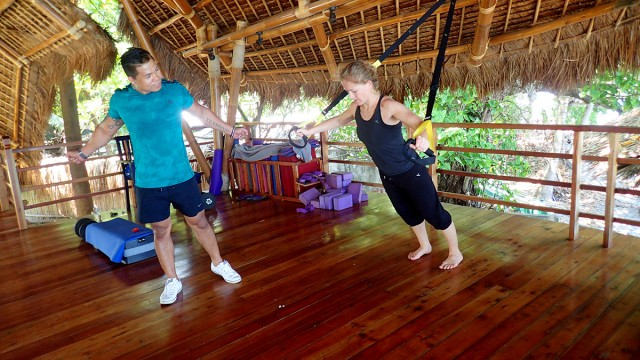 Circuit Training and fitness at Atmosphere in the Philippines