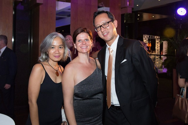 Atmosphere spa manager Rae Collins with Beni Gomez at Asia Spa awards for Atmosphere Resort