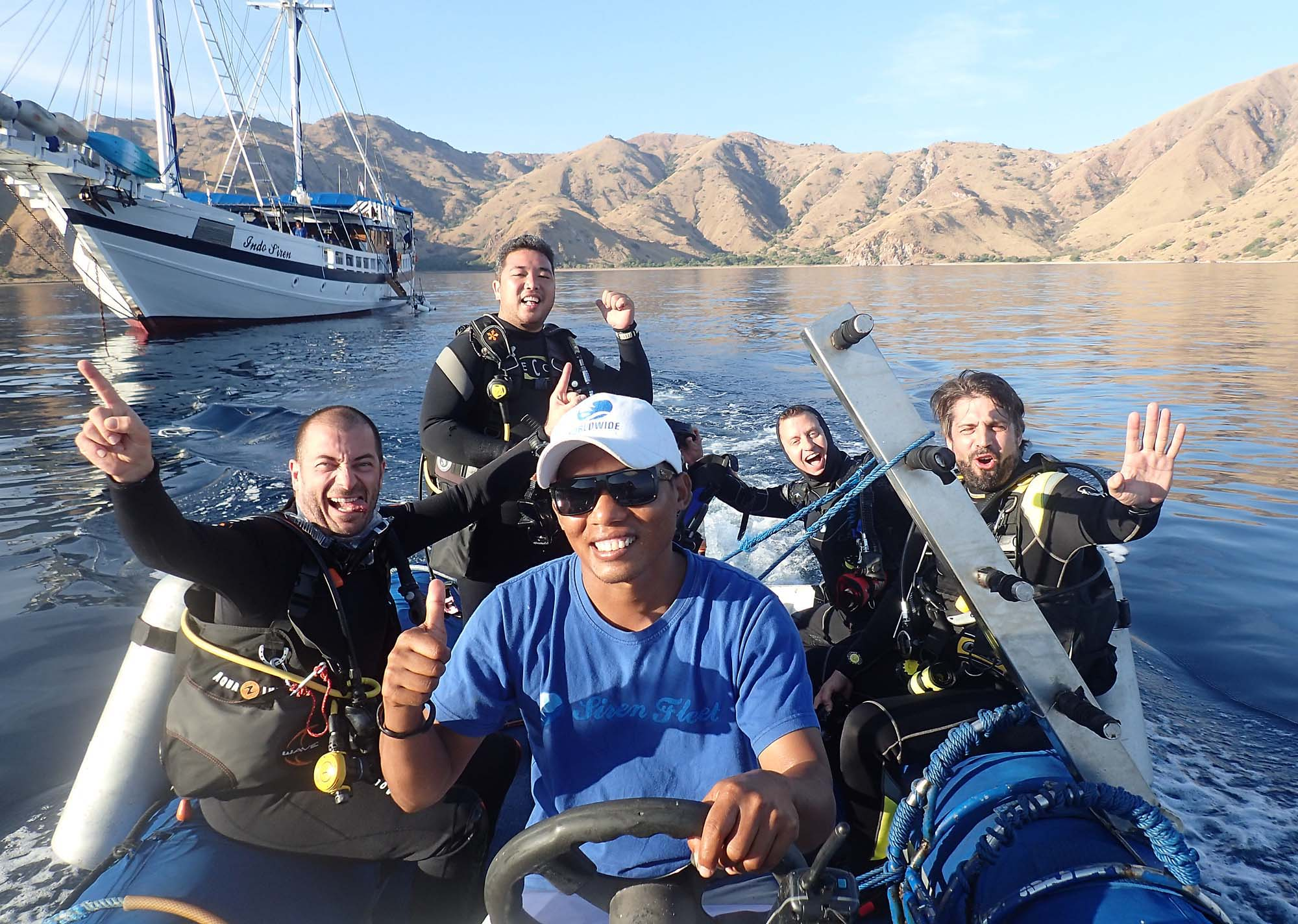 Going diving! Komodo 2015