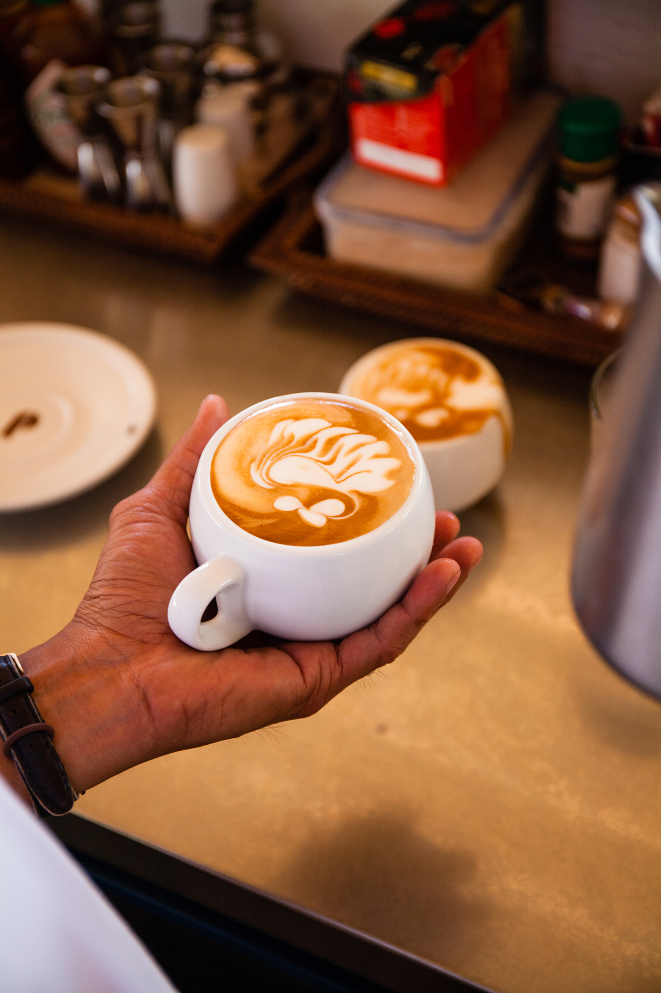 Caffe lattes