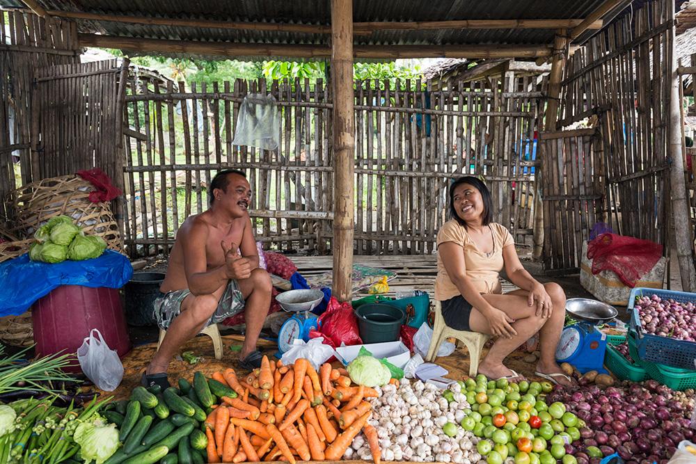 Malatapay Market Stall