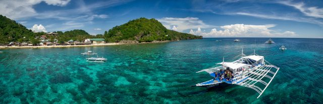 Apo island Philippines near Atmosphere Resort captured by Nu parnupong