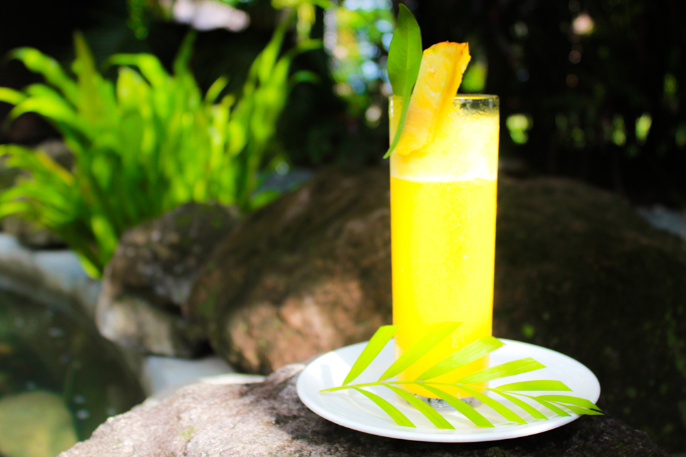 Detox drink, Atmosphere Resorts, Dauin, Philippines
