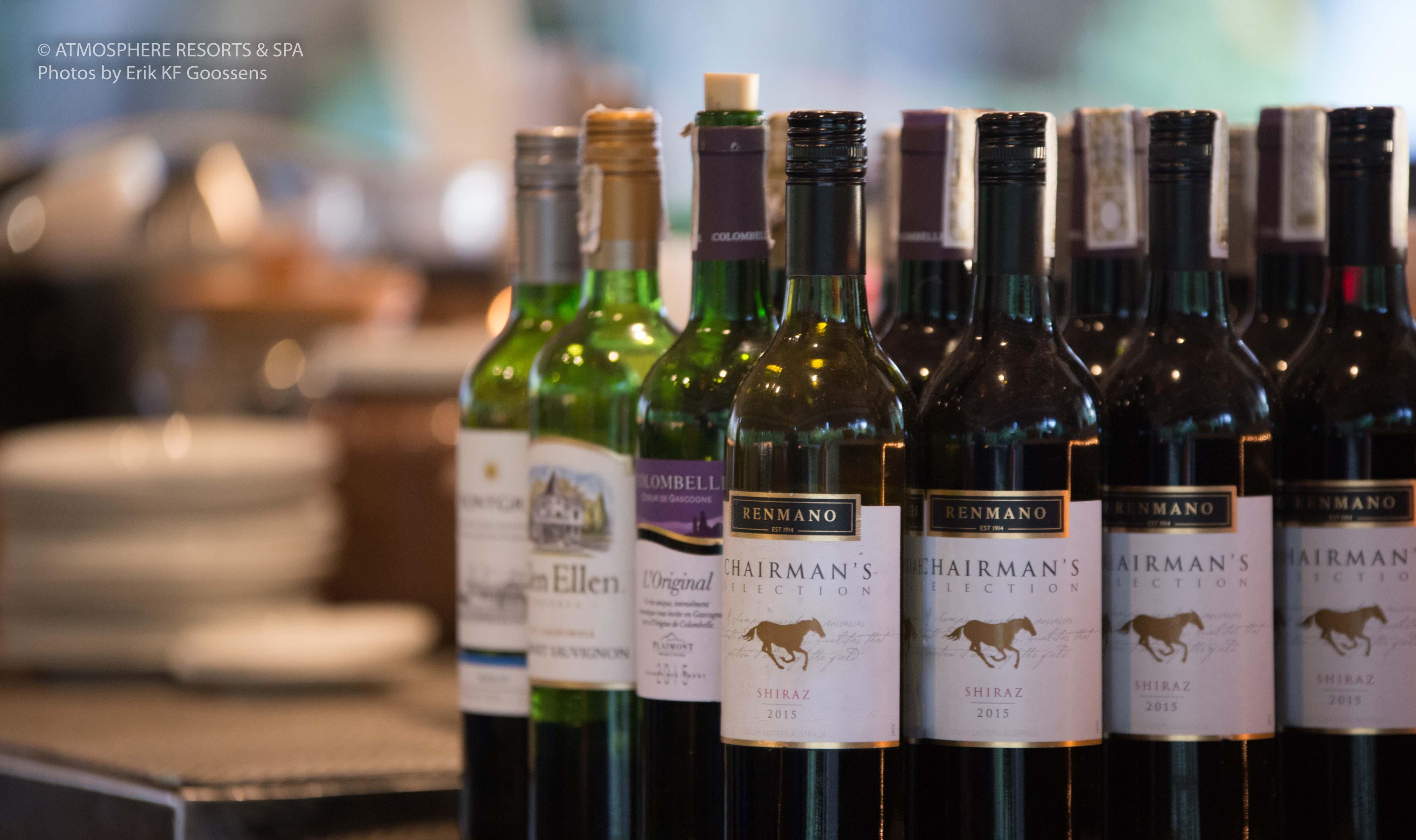 Wine tasting Atmosphere Resorts Philippines
