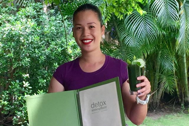 Spa Detox therapy Atmosphere resorts, Dauin Philippines