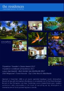 Atmosphere Residences Philippines 2017