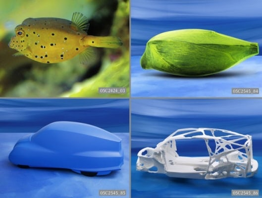 Boxfish models by Mercedes Benz