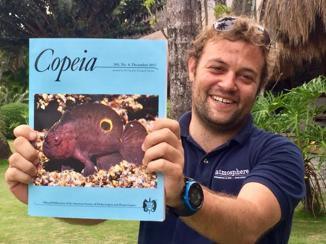 Copeia Marine Biologist frogfish front cover