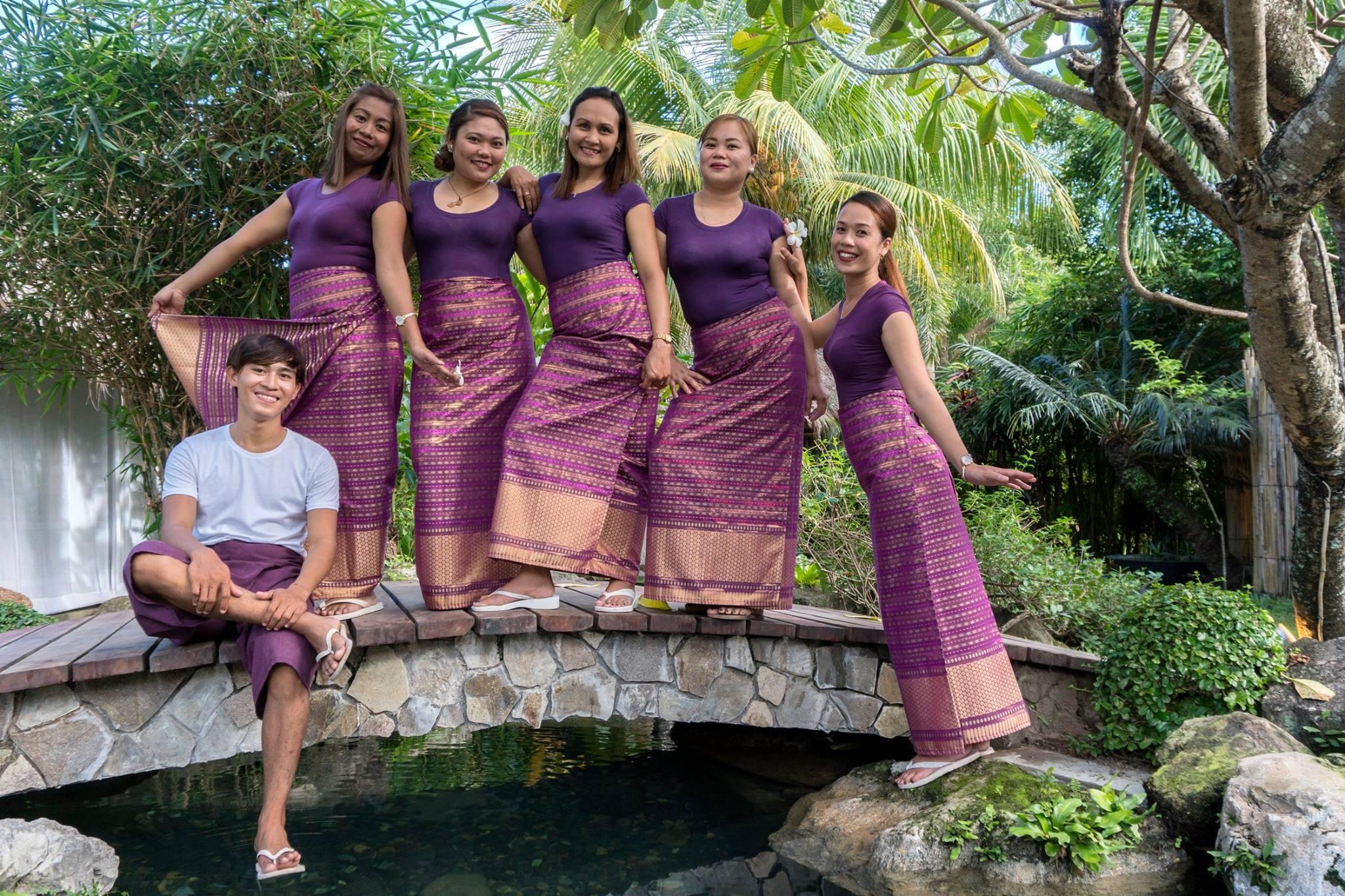 New uniforms at Sanctuary Spa Dumaguete