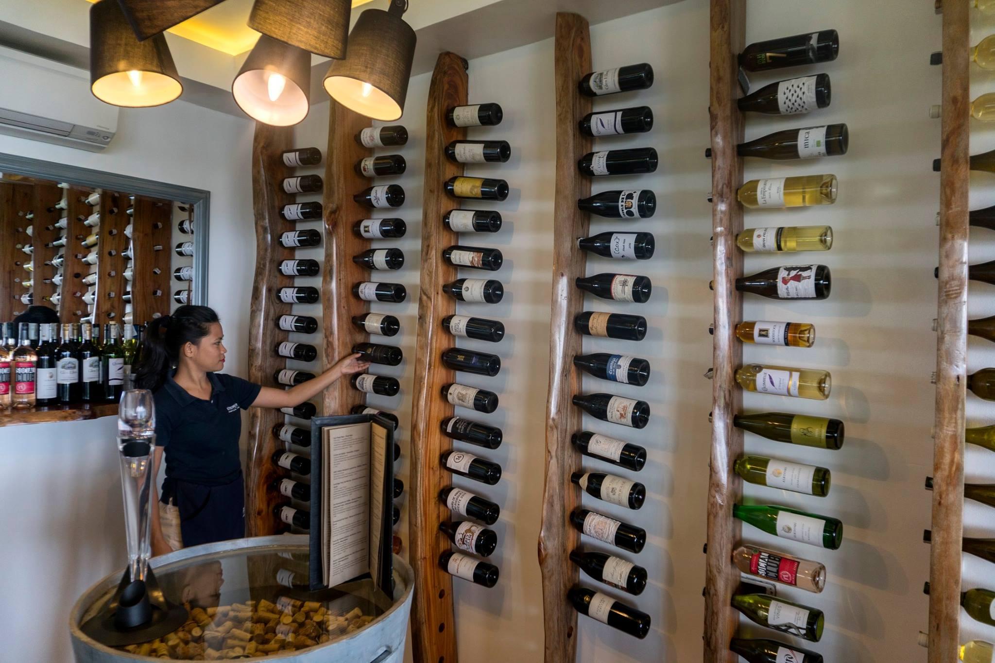 wine tasting at Atmosphere Resorts Philippines