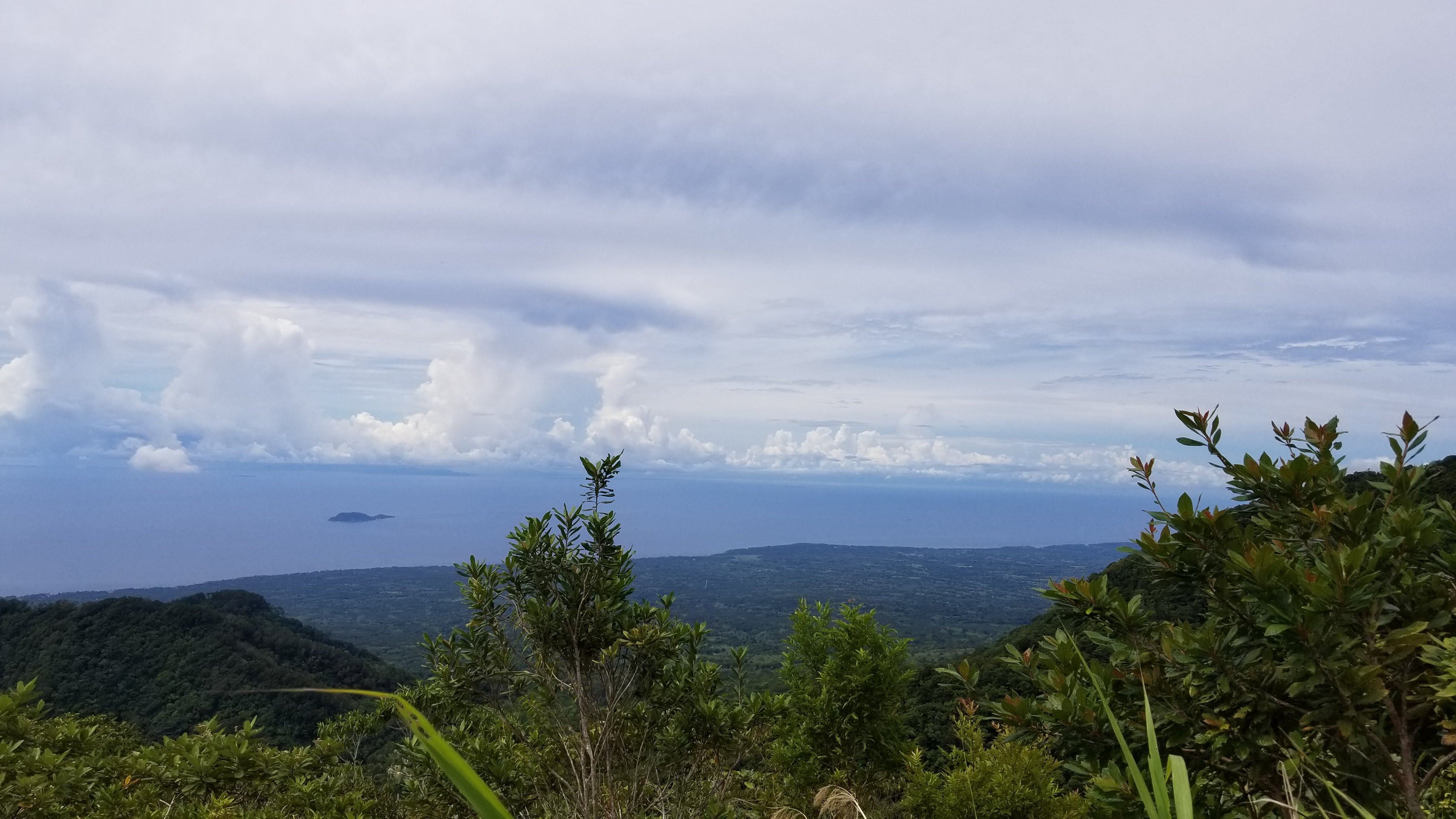 Negros Oriental looking back to Apo Island by Spencer Dempsey