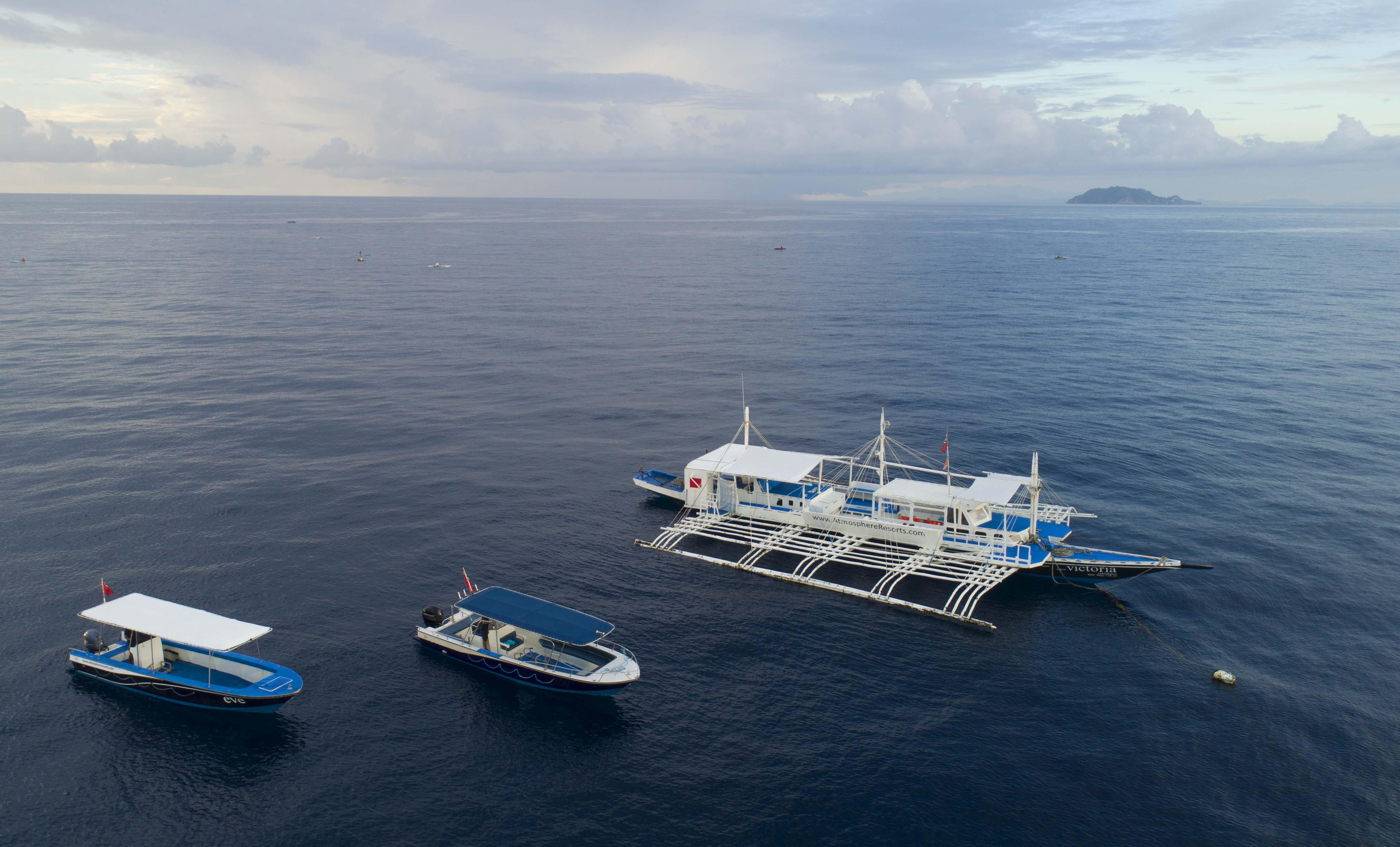 new speedboat at atmosphere resorts