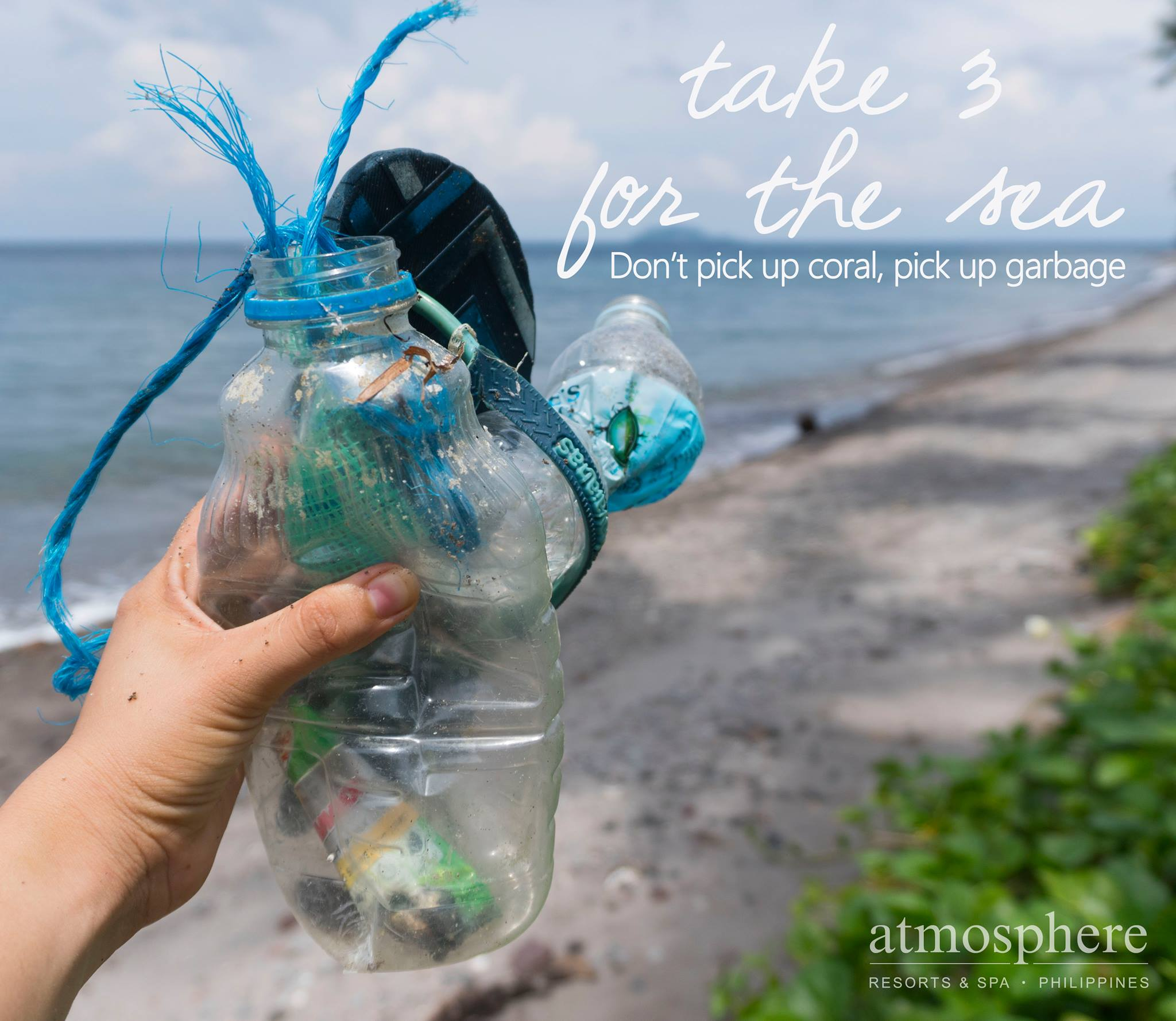 Atmosphere Resorts taking eco action - take 3 for the sea