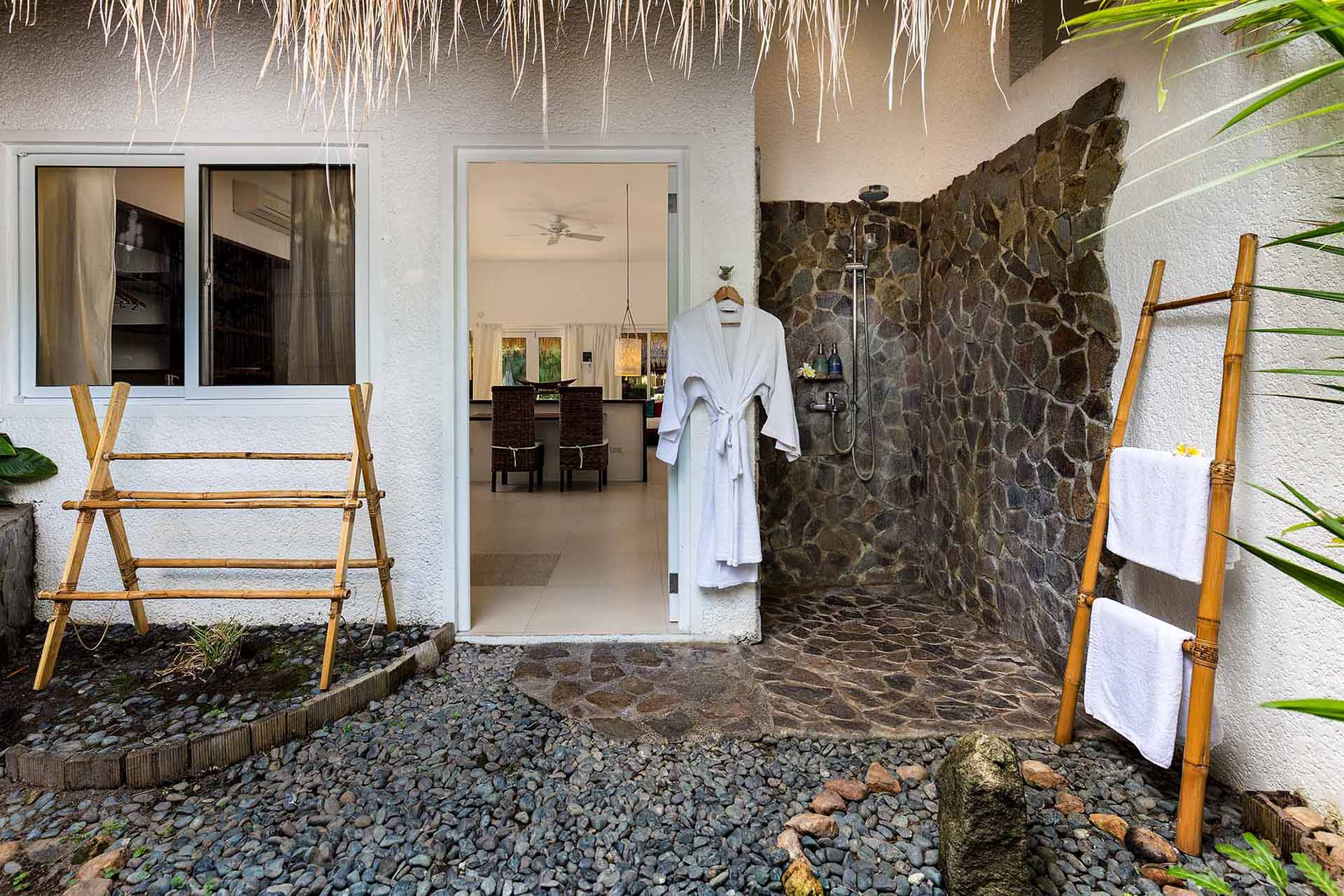 Deluxe Suite Bathroom at Atmosphere Resort Philippines