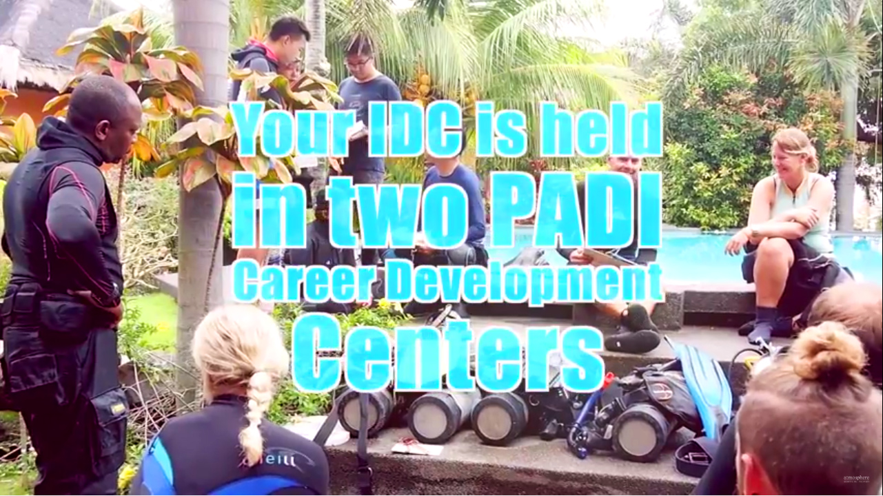 PADI IDC in the Philippines