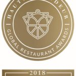 Haute Grandeur Restaurant Award 2018