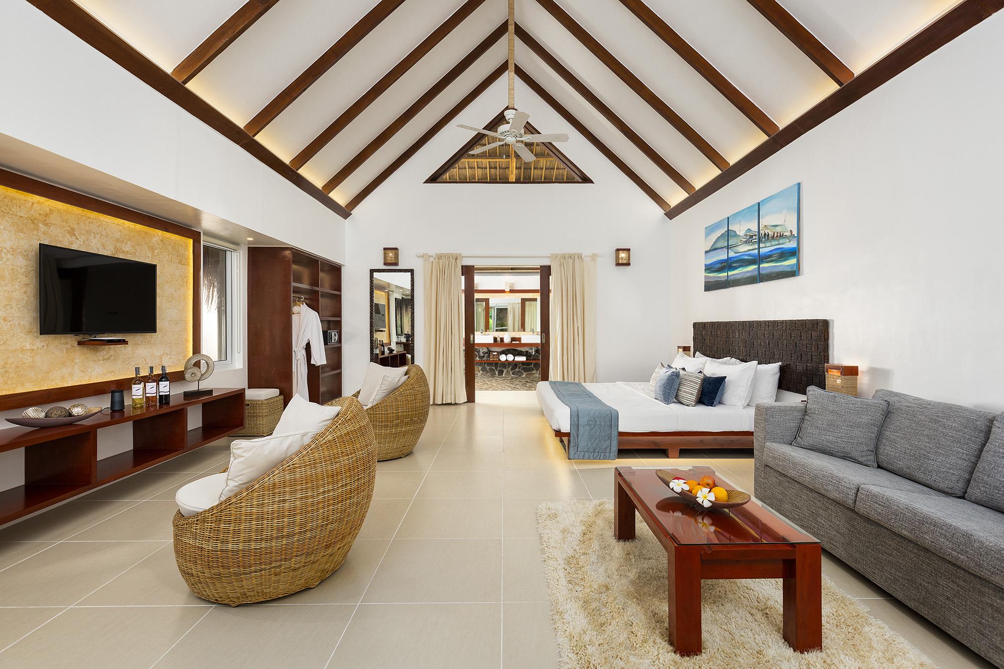 Interior of the Premium Pool Suite at Atmosphere Resorts & Spa Philippines