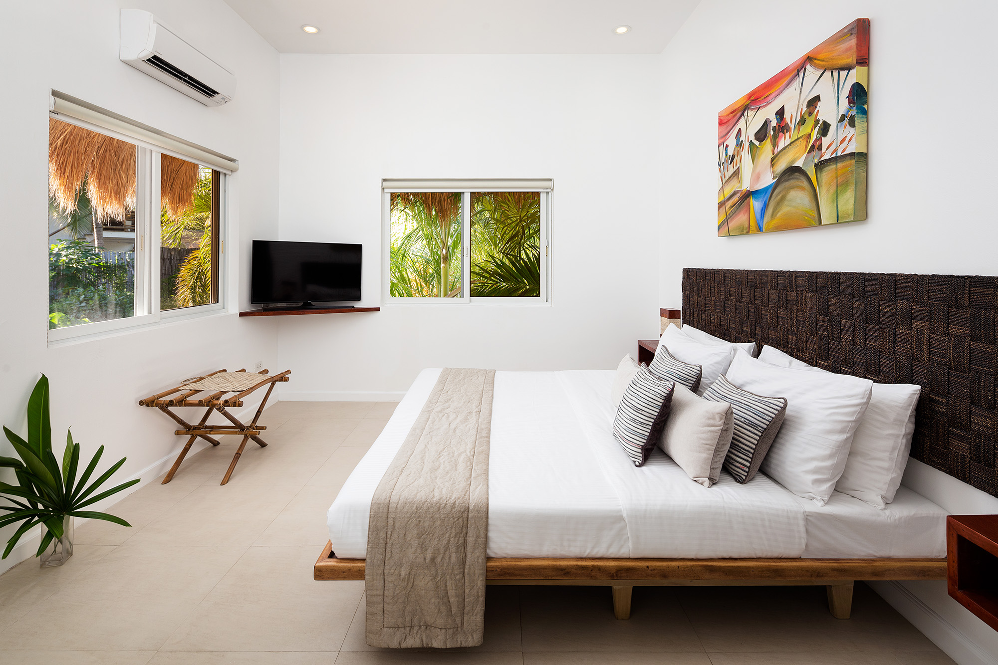The Penthouse second bedroom at Atmosphere Resorts & Spa Philippines