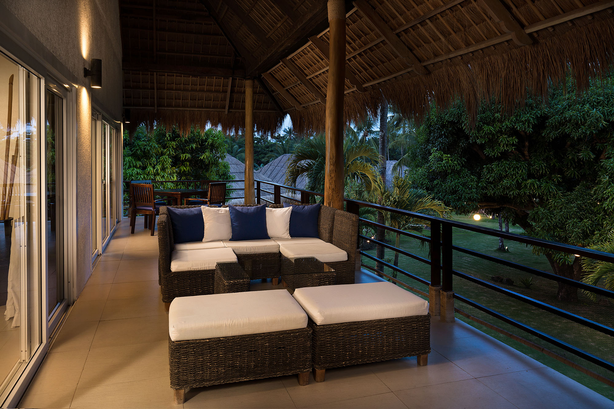 Panthouse terrace at Atmosphere Resorts & Spa Residences Philippines