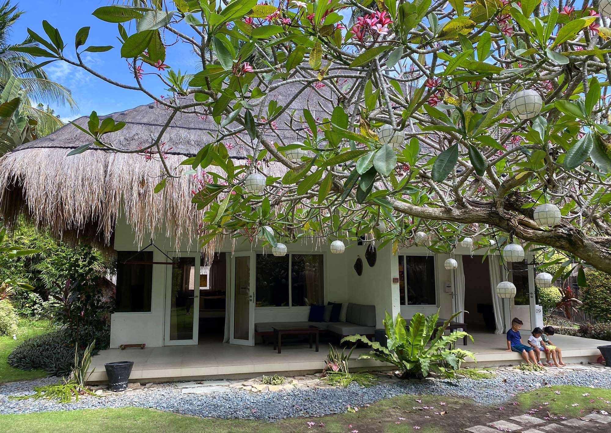 Duplex Family Suite exterior at Atmosphere in Dumaguete, Philippines